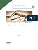 Sillabus Psicopatologia I 2016
