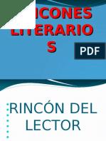 Rincones Literarios