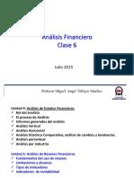 Analisis Financiero - Indicadores