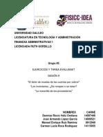 tarea y ejercicio sesión 9 finanzas administrativas 1