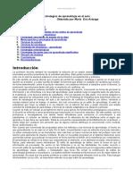 Documento Estrategias Aprendizaje Aula