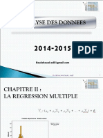 Régression Multiple PPT