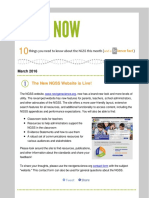 March 2016 NGSS NOW Newsletter