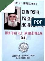 Cuviosul Paisie Aghioritul Marturii Ale Inchinatorilor Nicolae Zurnazoglu