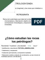 Cómo Estudian Las Rocas Los Petrólogos en Blanco