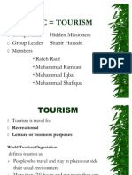 Tourism Project