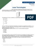 Temas Mais Comuns No ENEM Matemática 22 09