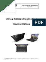 Manual RMA Meganetbook Classic II Series