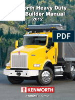 Hd t800 w900 c500 Body Builder Manual Kenworth
