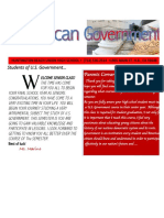 marino-american government newsletter