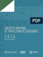 ENTE 2013 Resultados Definitivos