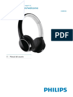 Manual Auriculares philips