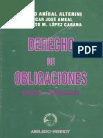 Derecho de Obligaciones Atilio Alterini Oscar Ameal Roberto Lopez