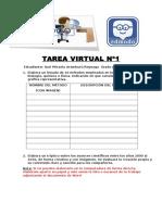 Tarea Virtual Nº1 - Ciencia y Tecnologia