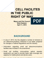 20160411 City of Gaithersburg Presentation - Cell Towers