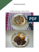Almuerzos de Autor
