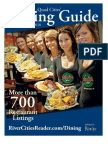 Quad Cities' Dining Guide - Spring/Summer 2010 - Published by the river Cities' Reader