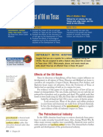 the impact of oil on texas pg 426-428