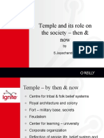 19-S Jayachandran - Temple and Its Role on the Society Then & Now
