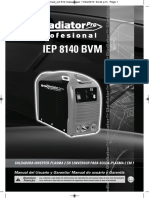 Iep 8140 Bvm Gladiator Pro Manual