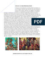 Historia de La Indumentaria Maya
