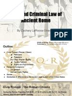 zachary - civil and criminal law of ancient rome