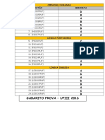 Gabarito UFIII