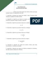 Guia Ejercicios 01 - Estructuras Selectivas