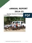 Bendigo Maubisse Friendship Committee 2014-15 annual report
