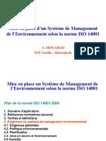 Mise en Place Du SME LP 2015