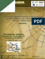 Paradigmas, Espécies Ancestrais e o Ensino de Zoologia e Botânica (Frante) - Corrigido 11-08-05