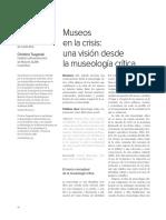 Museos en la crisis una visión desde la museología crítica.