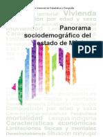 Panorama Sociodemográfico del Edo de Mex