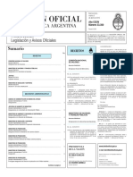 Boletín Oficial de la República Argentina, Número 33.350. 05 de abril de 2016