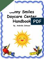 family handbook template