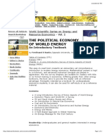 The Political Economy of World Energy