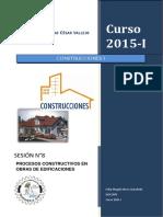 Proceso Constructivo en Edificaciones