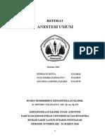 Referat Anestesi Umum