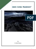 Defensive Living Manifesto