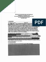 UC Berkeley - Liete investigation report