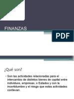 Finanzas Trabajo