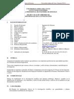 Silabus de Metodologia de La Investigación Is1