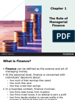 Chapter 1 Introduction to Managerial Finance