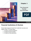 Chapter 2 the Financial Market Environment
