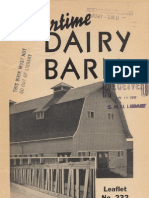 A Wartime Dairy Barn