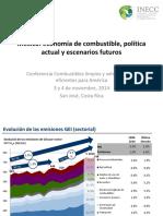 México Economía de Combustible, Política Actual y Escenarios Futuros