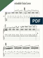 Downloadable Guitar Lesson