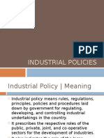 industrialpolicy from 1948-1991