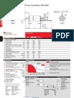 Maxon EC-Powermax30 200Watt