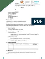 Formatos A y directivas de internado